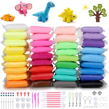 Air Dry Clay Diy 36 Colors Modeling Clay Magic Crafts Kit Non-toxic Colors