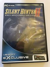 SILENT HUNTER II 2- U-BOAT SUBMARINE COMBAT SIM WIN XP PC GAME FastPost COMPLETE