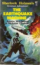 Sherlock Holmes Greatest Adventure! THE EARTHQUAKE MACHINE. 1976 PBO.