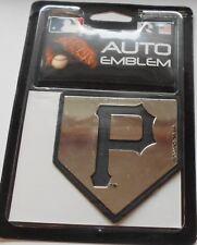 Pittsburgh Pirates Auto Emblem. Adhesive Backing.   #588