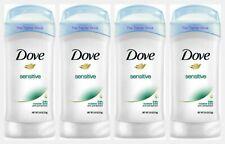 Dove SENSITIVE Women's Invisible Solid Antiperspirant Deodorant 2.6 oz, 4 Pack
