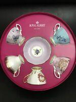 100 Years of Royal Albert Tea Cups And Saucers Set in Original Gift Box