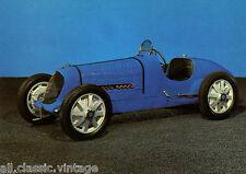 Postcard 55 - Car/Automobil Bugatti F Monoplace de course type 51A 1932