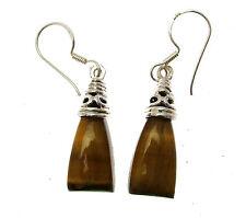 Gemstone Jewellery Tiger Eye Stone Earrings Tiger Eye Earrings Tigerite