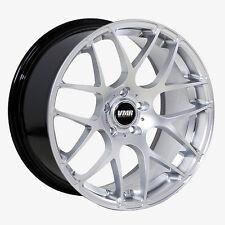 19x8.5 VMR Rims V710 5x112 ET35 Hyper Silver Wheels (Set of 4)