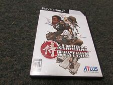Samurai Western (Sony PlayStation 2, 2005) Used Works PS2