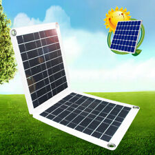 60W 18V Mono Solar Panel System for RV Car Boat Home Camping 12V Battery Charger