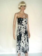 PHASE EIGHT Long Evening Dress. Silk. Cocktail Party, Formal, Casual.  SIZE 12