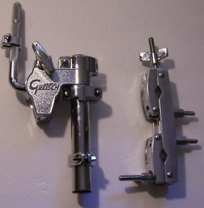 Gretsch Drum Tom Arm Mount - Bass Drum Mounting Chrome Right Side