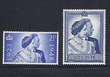 Great Britain Gb 1948 Silver Wedding Vf Mh