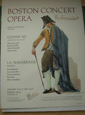 "Boston Concert Opera, 1982 ""Goyescas"""