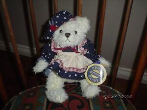 Brass Button Pickford Bears Opal Bear of Love 1996