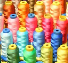 50 X-LG CONE POLY MACHINE EMBROIDERY THREAD 4 BABY LOCK