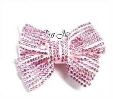 Accessoires de coiffure rose en acrylique pour femme