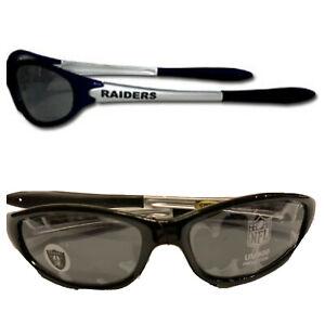 NFL Las Vegas Raiders Sleek Wrap Sunglasses -UV 400 Protection -Kids