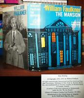 William Faulkner THE MANSION  1st Edition 1st Printing