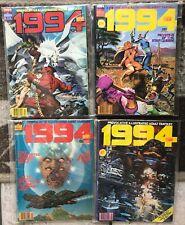 "Lot of 4 Vintage Warren Comic 1982 ADULT FANTASY  ""1994"" Issue #22 #23 #24 #29"