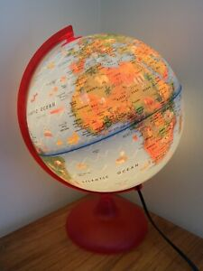 Children's Light Up Globe Lamp Nightlight from Early Learning Centre