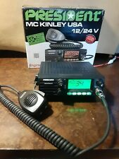 presioent    mckinley cb radio working   great