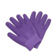 Purple Cotton Spa Gel Moisturising Gloves Maintain Moisture Care Hand Smooth