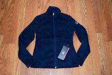 NWT Womens SPYDER ENDURE STRYKE Knit Mid Weight Jacket Navy Blue Pink XXS XS S M