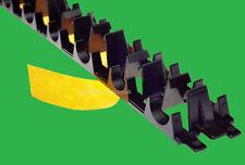 Underfloor Heating Clip Track Rail 10 x 1 m. Self Adhesive Tape UFH Cliprail