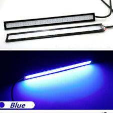 BLUE Car LED Light Bar 12V DRL 170mm LED Warranty 17CM X 2 Bars Interior Floor