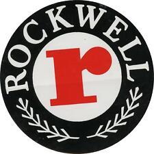 "#k298 (1) 3.5"" Rockwell Tools Automation Vintage Emblem Decal Sticker Laminated"