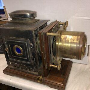 Antique Magic Lantern Projector