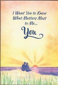 Blue Mountain Arts Greeting Card, I LOVE YOU, Romance Card