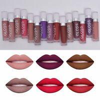 15Farbe Damen Wasserdichte Flüssige Lippenglanz Velvet Matte Lippenstift Makeup