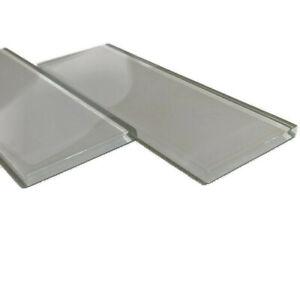 "Glass Mosaic Tile CARTON - Kitchen Backsplash 67 Pcs - 3""x8"" Rectangle FREE SHIP"