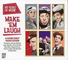 MY KIND OF MUSIC MAKE 'EM LAUGH - 2 CD BOX SET - THE GOONS, NORMAN WISDOM & MORE