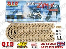 DID Gold Super HD Chain 530ZVMXGG 114 fits Honda CB1300 S 10-12