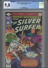 Fantasy Masterpieces V2 #9 CGC 9.8 1980 Marvel Comic Silver Surfer :  New Frame
