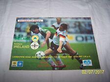 Republc de Irlanda V Irlanda del Norte Grupo de Copa del Mundo FIFA ~ 6 ~ 11/10/89