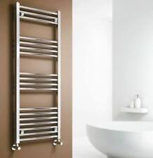 1200 x 500mm CHROME HEATED STRAIGHT TOWEL RAIL | Bathroom Radiator Rad Warmers