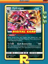 Hydreigon (Dragon Majesty) - for Pokemon TCG Online (DIGITAL ptcgo in Game Card)