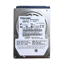 "Toshiba 500GB MK5055GSX 5400RPM 2.5"" SATA Laptop HDD Hard Drive"