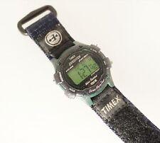 Timex Ironman Women's Digital Watch Velcro Band Alarm Chrono Timer