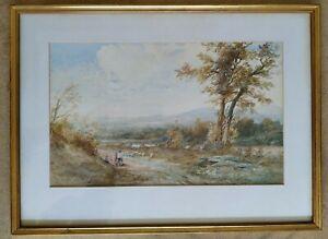 Albert Pollitt Watercolour Painting Tal-y-cafn N. Wales 1903
