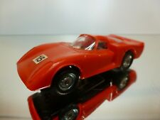DROMO CAR - SLOT CAR ALFA ROMEO 33 - RED 1:43 - GOOD CONDITION
