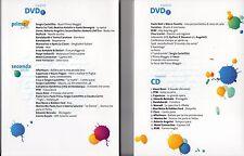 MONDO DEL PRIMO MAGGIO 2DVD + LIBRO+ CD Vasco Rossi Caparezza Paola Turci Nomadi