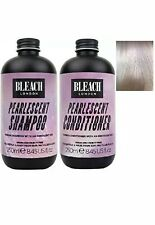 BLEECH LONDON PEARLESCENT SHAMPOO & PEARLESCENT CONDITIONER 250ML Each FAST POST