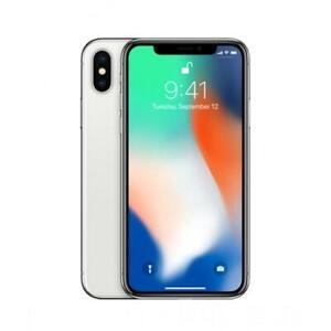 Apple iPhone X 64GB SIM Free Unlocked iOS Smartphone, Silver - Grade Very Good