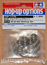 Tamiya 54179 M-05 Ball Bearing Set (M05/M05Ra/M-05Ra/Mini/Swift/M05V2), NIP