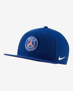 Nike Paris Saint-Germain Pro Cap Hat Snapback Navy Casual Soccer NWT BV4274-492