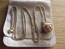 Rhinestone Gold Necklace Vintage Costume Jewellery (1980s)