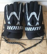 Warrior Lacross Gloves Tempo 8 Black 12 inch