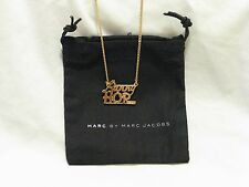 Marc by Marc Jacobs Oro Gold 'Bunny Hop' Pendant Necklace NWT Rare